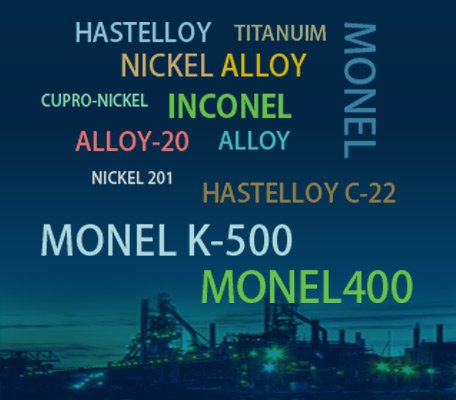 Inconel,Monel,Hastalloy Products Supplier