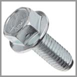 Steel Hex Flange Bolts