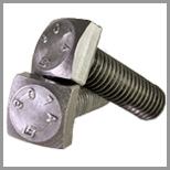 Stainless Steel Square Head Machine Bolts