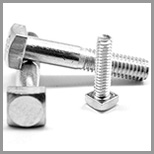 Steel Square Head Machine Bolts