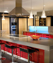 Decorative Steel Kitchen Counters
