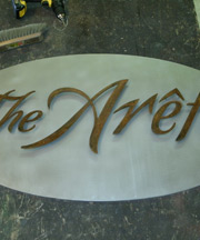 Designer Steel Signages