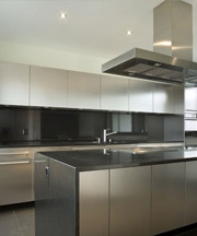 stainless steel Kitchen Counters Designs