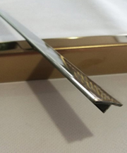 Stainless Steel T Profile Section