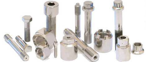 Nickel Nuts, Bolts Fasteners Supplier in India.