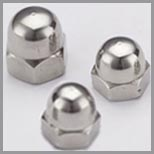 SS Domed Cap Nuts