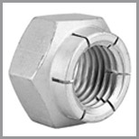Stainless Steel Flexloc Nuts