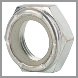 SS Hex Jam Nylon Lock Nuts