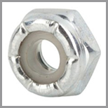 Stainless Steel Hex Jam Nylon Lock Nuts