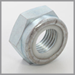 Steel Hex Jam Nylon Lock Nuts