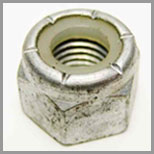 Stainless Steel Imperial Thread Nylock Nuts