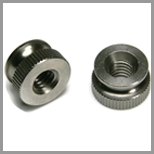 Stainless Steel Knurled Nuts