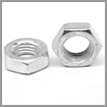 SS Machine Hex Nuts