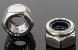 Hex Lock Nuts Nylon Insert