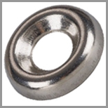 Steel Countersunk Finishing Washers