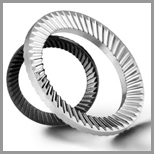 Stainless Steel Serrated Washers