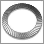 Steel Serrated Washers